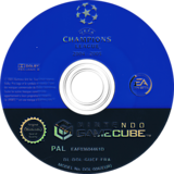 UEFA Champions League 2004-2005 disque GameCube (GUCF69)