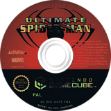 Ultimate Spider-Man disque GameCube (GUTF52)