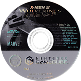 X-Men 2 : La Vengeance de Wolverine disque GameCube (GWVX52)