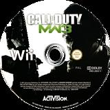 Call of Duty: Modern Warfare 3 disque Wii (SM8P52)