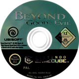 Beyond Good And Evil GameCube disc (GGEX41)