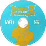 ドラゴンボールZ Sparking! METEOR Wii disc (RDSJAF)
