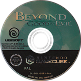 Beyond Good And Evil GameCube disc (GGEY41)