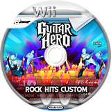 Guitar Hero III Custom : Rocks Hits Custom v2 CUSTOM disc (CGHRH2)