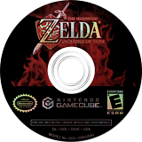The Legend of Zelda: Ocarina of Time / Master Quest GameCube disc (D43E01)