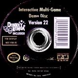 Interactive Multi-Game Demo Disc - Version 22 GameCube disc (D73E01)
