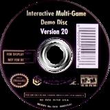 Interactive Multi-Game Demo Disc - Version 20 GameCube disc (D75E01)