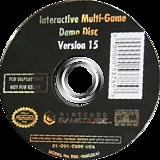 Interactive Multi-Game Demo Disc - Version 15 GameCube disc (D82E01)