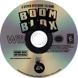 Boom Blox (Demo) Wii disc (DBKE69)