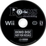 Rooms: The Main Building (Demo) Wii disc (DRME18)