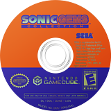 Sonic Gems Collection GameCube disc (G2XE8P)
