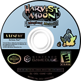 Harvest Moon: Magical Melody GameCube disc (G4AEE9)