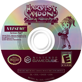 Harvest Moon: Another Wonderful Life GameCube disc (G4GEE9)