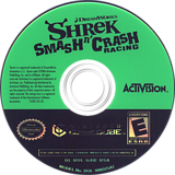 Shrek Smash n' Crash Racing GameCube disc (G4IE52)