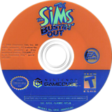 The Sims Bustin' Out GameCube disc (G4ME69)