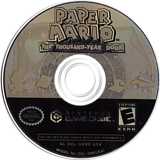 Paper Mario: The Thousand-Year Door GameCube disc (G8ME01)