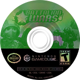 Battalion Wars GameCube disc (G8WE01)