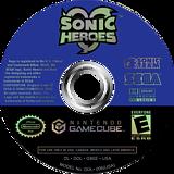 Sonic Heroes GameCube disc (G9SE8P)