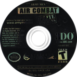 Army Men: Air Combat The Elite Missions GameCube disc (GACE5H)