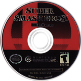 Super Smash Bros. Melee GameCube disc (GALE01)