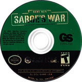 Army Men Sarges War GameCube disc (GAME5H)