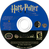 Harry Potter and the Prisoner of Azkaban GameCube disc (GAZE69)