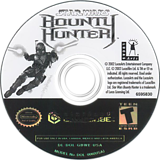 Star Wars Bounty Hunter GameCube disc (GBWE64)