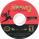 Dave Mirra Freestyle BMX 2 GameCube disc (GBXE51)