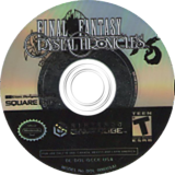 Final Fantasy Crystal Chronicles GameCube disc (GCCE01)