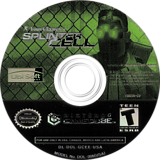 Tom Clancy's Splinter Cell GameCube disc (GCEE41)