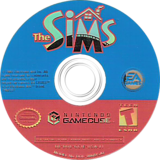The Sims GameCube disc (GCIE69)