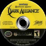 Baldur's Gate: Dark Alliance GameCube disc (GDEE71)