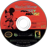 Disney's Magical Mirror Starring Mickey Mouse GameCube disc (GDME01)