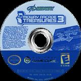 Midway Arcade Treasures 3 GameCube disc (GE3E5D)