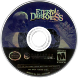 Eternal Darkness: Sanity's Requiem GameCube disc (GEDE01)