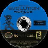 Evolution Worlds GameCube disc (GEWE41)