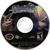 Star Fox: Assault GameCube disc (GF7E01)