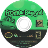 Frogger Beyond GameCube disc (GFGEA4)