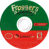 Frogger's Adventures: The Rescue GameCube disc (GFQEA4)