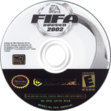 FIFA Soccer 2002 GameCube disc (GFSE69)