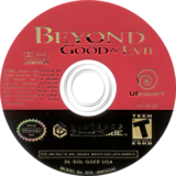 Beyond Good & Evil GameCube disc (GGEE41)
