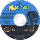 Madagascar GameCube disc (GGZE52)