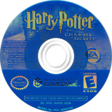Harry Potter and the Chamber of Secrets GameCube disc (GHSE69)