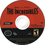 The Incredibles GameCube disc (GICE78)