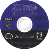 Scooby-Doo!  Night of 100 Frights GameCube disc (GIHE78)