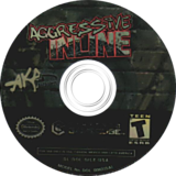 Aggressive Inline GameCube disc (GILE51)