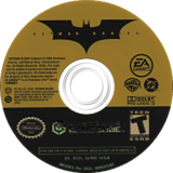 Batman Begins GameCube disc (GINE69)