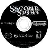 Second Sight GameCube disc (GISE36)