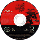 Ty the Tasmanian Tiger 3: Night of the Quinkan GameCube disc (GIZE52)