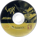 Vexx GameCube disc (GJXE51)